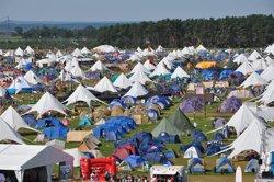 World jamboree tents