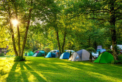 Consider the campsite when choosing a tent