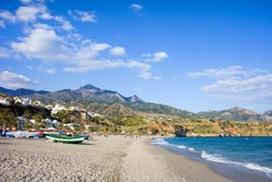 Burriana Beach, Andalucia