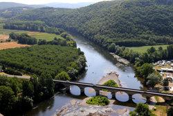 River dordogne from Chateau de Castelnaud la chapelle