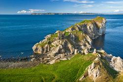 Cliffs in Northern Ireland