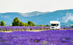 Motorhome in Provence
