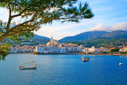 Cadaques, a small town on the Costa Brava