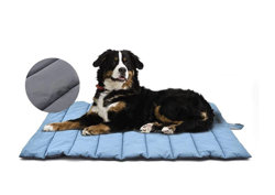 XIAPIA Waterproof Dog Beds Large Washable Portable Pet Mattress Non-Slip Claw and Scratch Proof for Dog Cage Home Outdoor