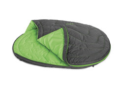 Ruffwear Sleeping Bag for Dogs, Ideal for Camping and Backpacking, One Size – Suitable for Most Breeds, Meadow Green, Highlands Sleeping Bag, 1060-345M