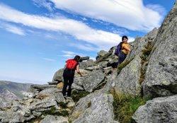 Climbing Tryfan in 2020